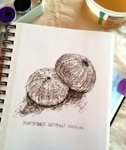 warm up ink sketch