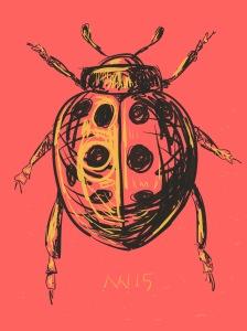 Ladybug: Paper 53 app on iPad