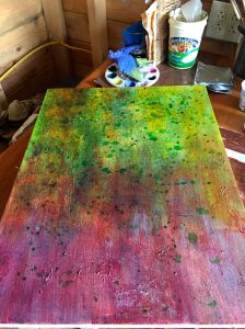 ground for jack-the-pulpit painting