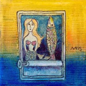 Sardine Surprise: Tiny Art Donation